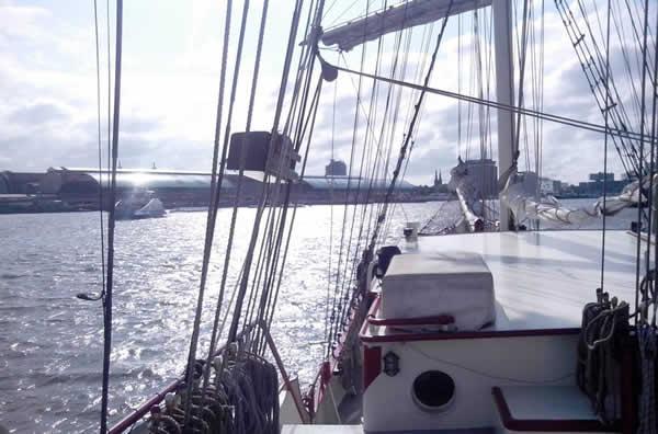 trouwen op het ij haven amsterdam
