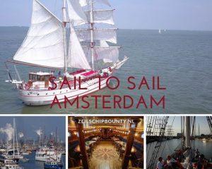 Sail to sail Amsterdam