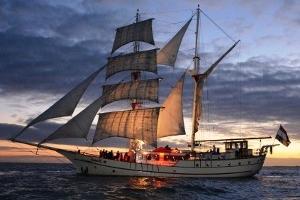 singles sunset bounty schip