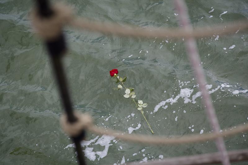 zeilschipbounty.nl corona asverstrooiing water afscheid