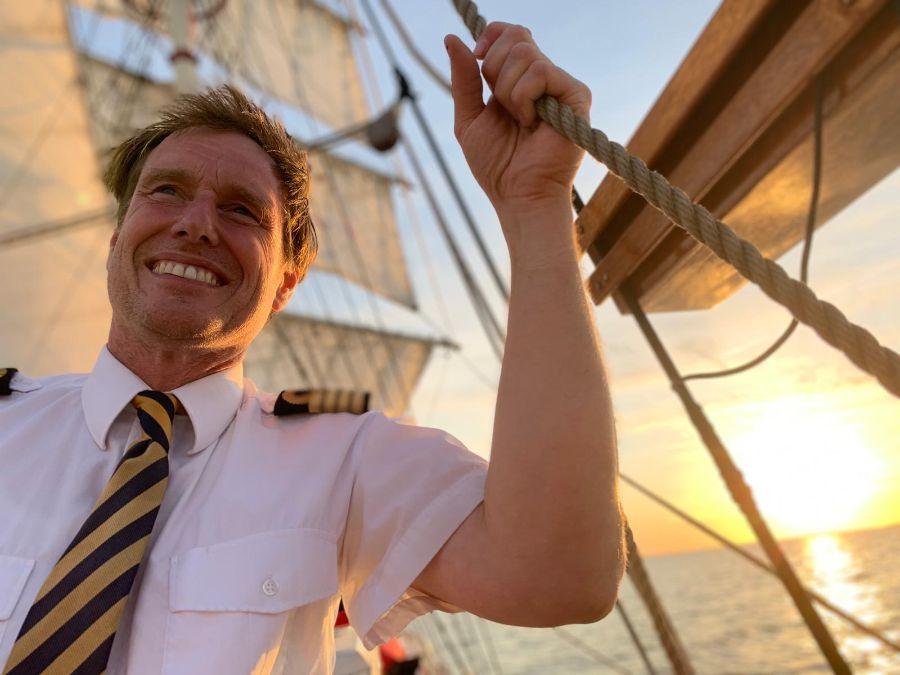 Zeilschip Bounty Kapitein