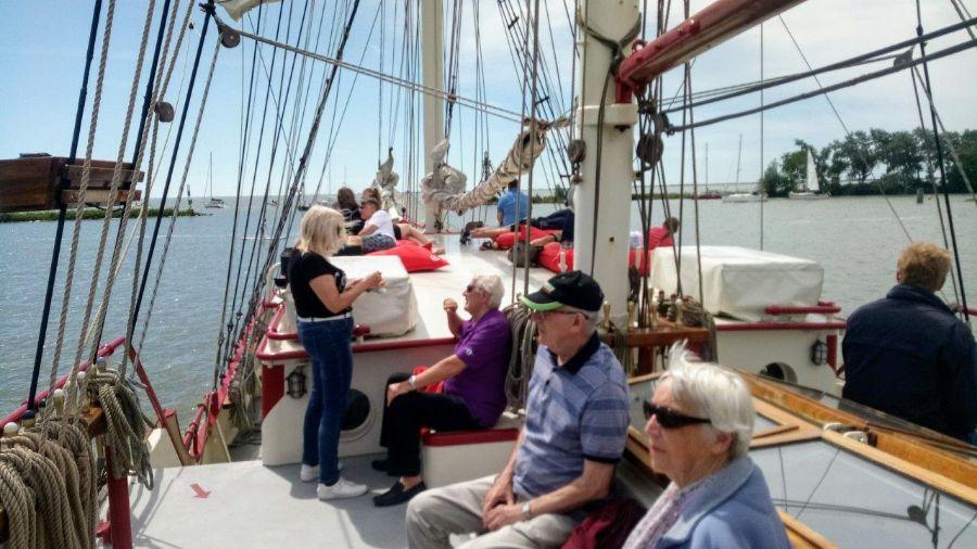 Zeilschip Bounty Juni Hoorn Vaartocht