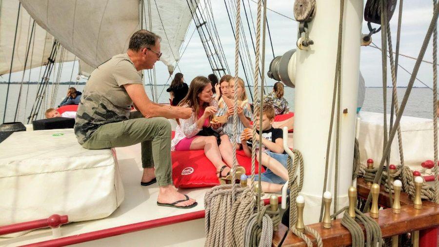 Zeilschip Bounty Groepsuitje Hoorn