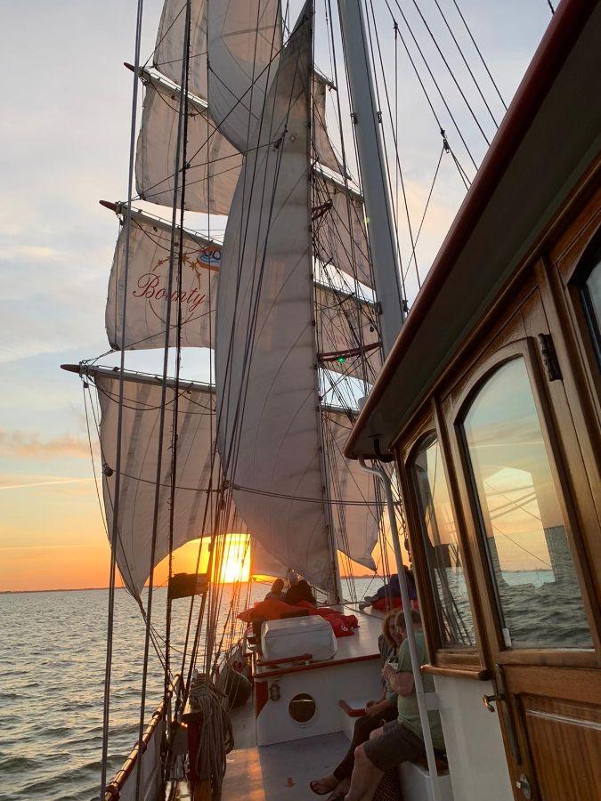 Zeilschip Bounty Juni Hoorn