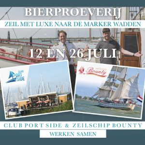 Bierproeverij Club Portside Zeilschip Bounty