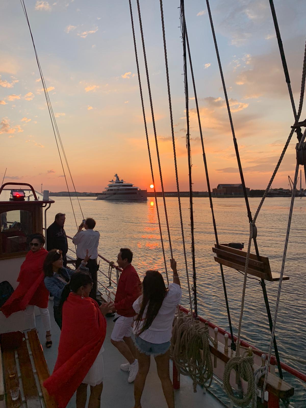 VIP zeilfeest Amsterdam Sunset