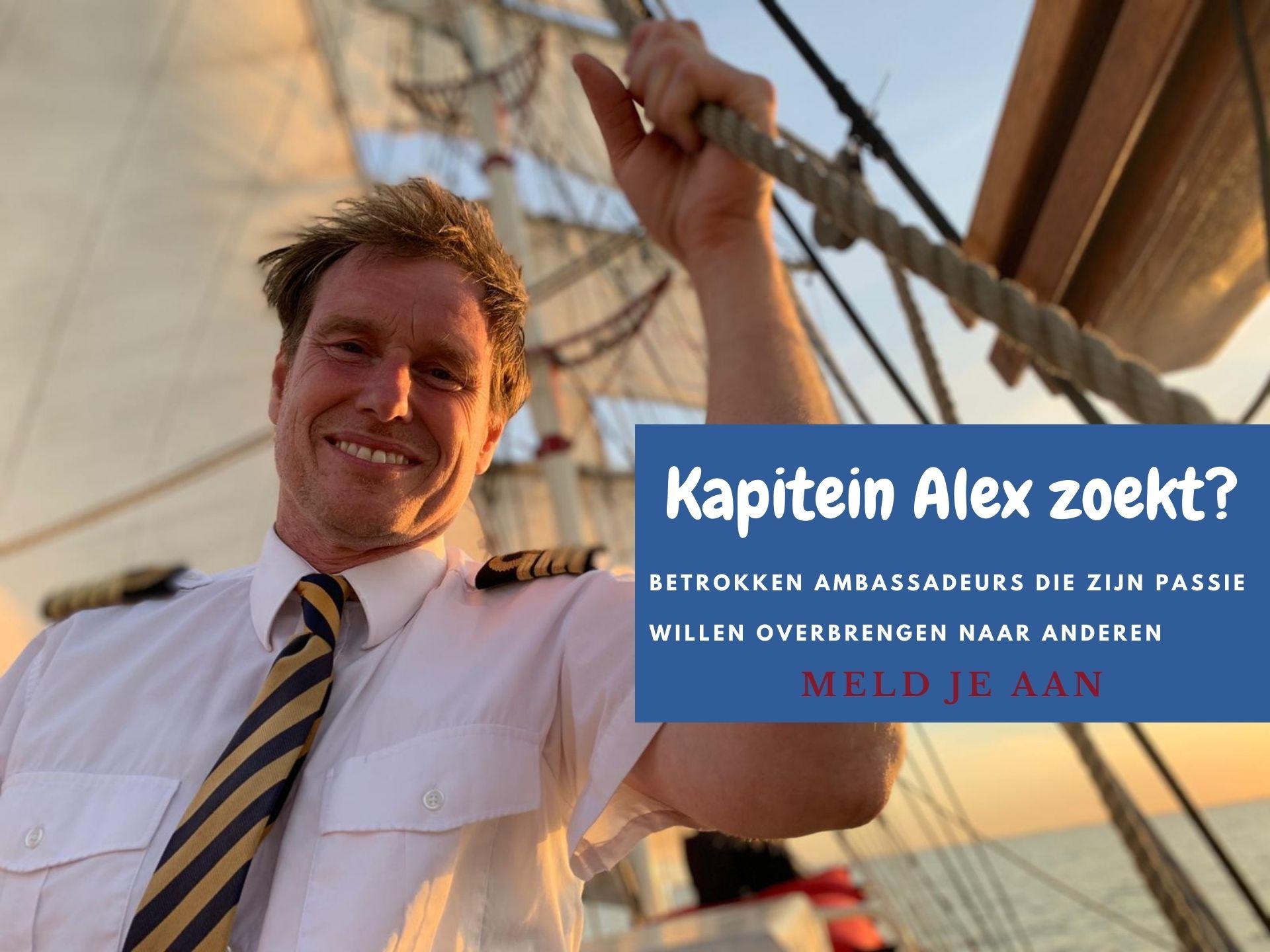Alex van Klaveren zoekt ambassadeurs