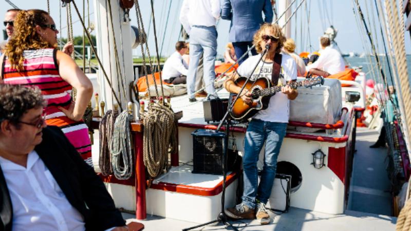 bounty muzikaal zomer zeilen vip event