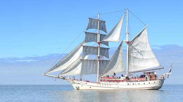 Zeilschip Bounty Jongeren Zeilen