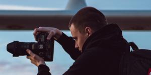 fotograaf aan boord