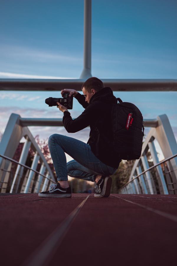 rickroos videograaf aan boord