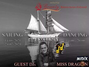 Sailing Dancing Miss Dragon MidiX